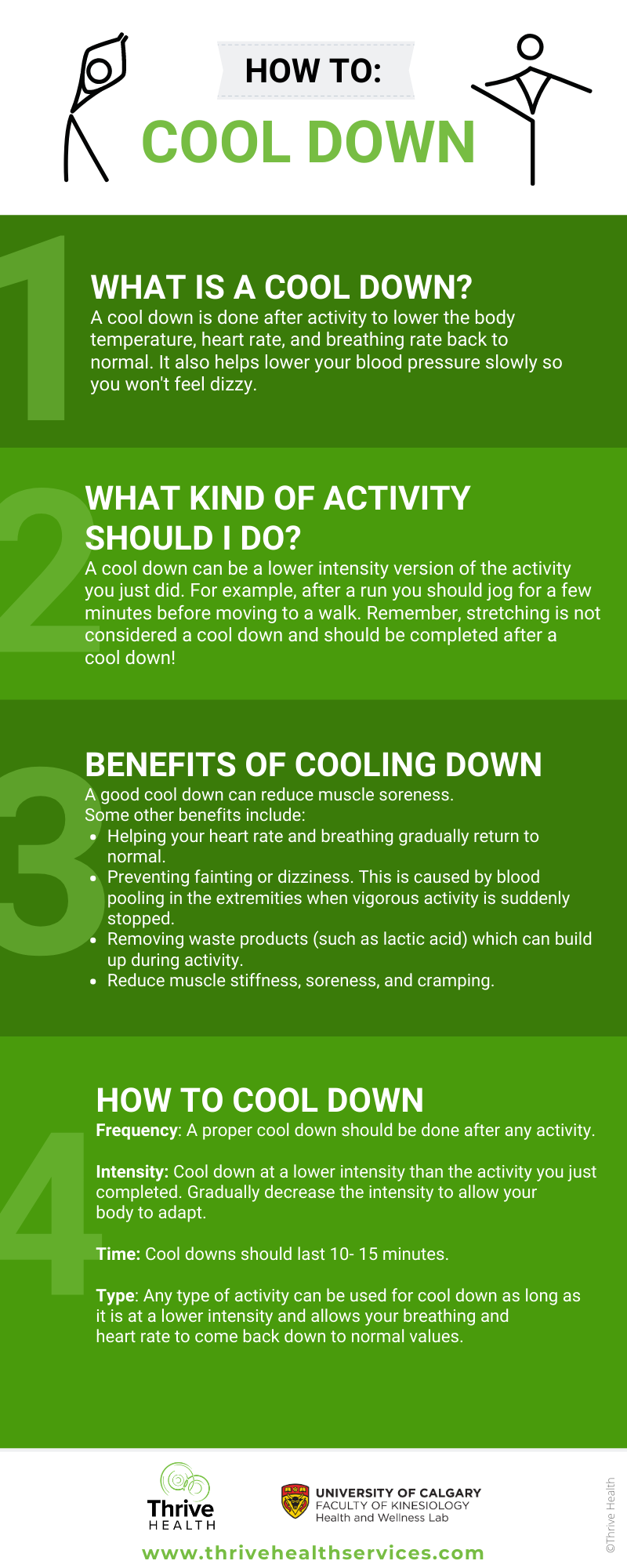 Cool Down Guide
