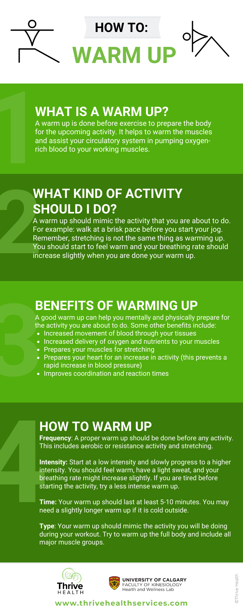 Warm Up Guide