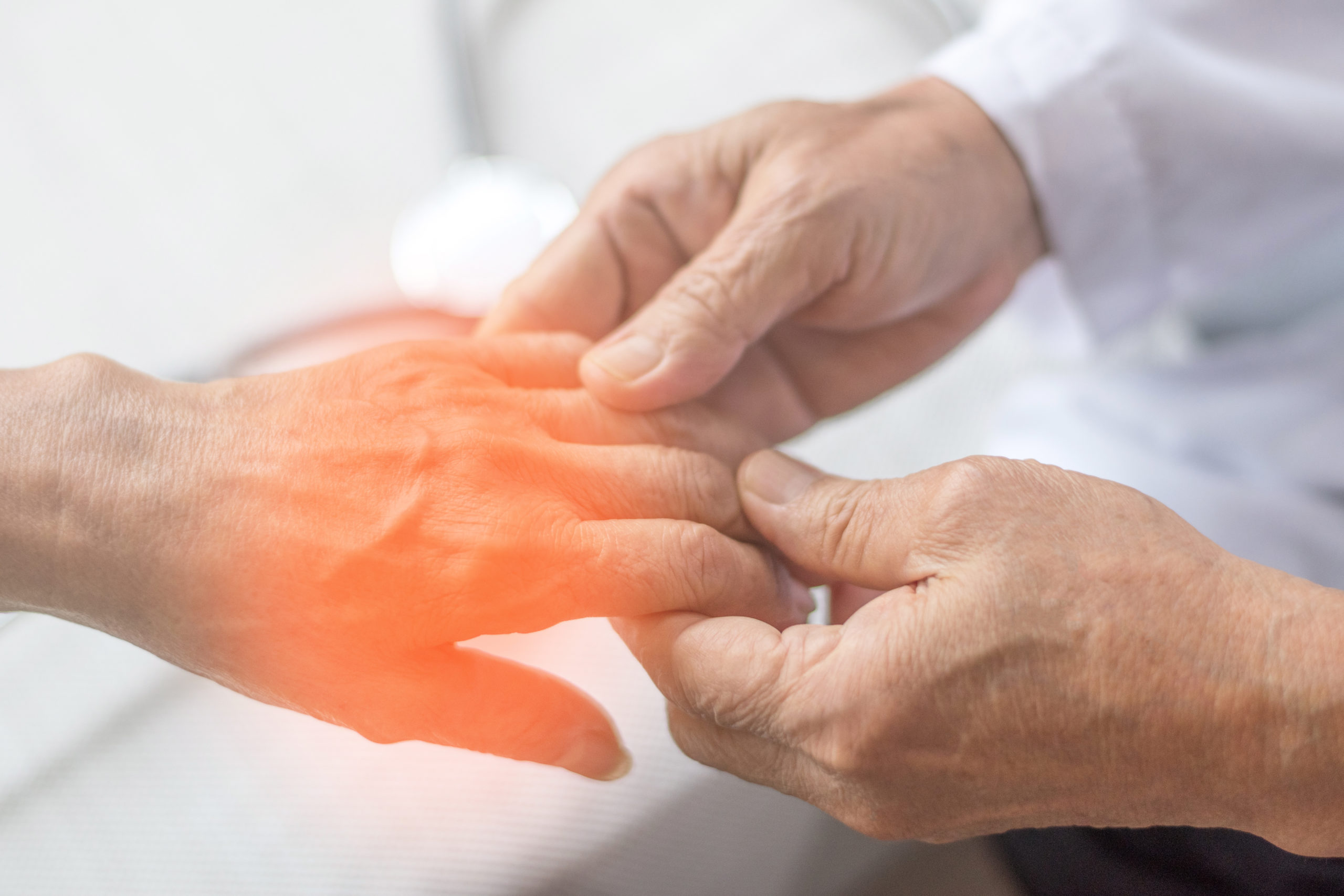 Peripheral,Neuropathy,Concept.,Doctor,Neurologist,Checkup,Old,Patient,For,Symptoms